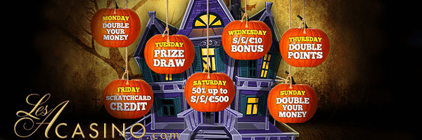 halloween no deposit casino bonuses