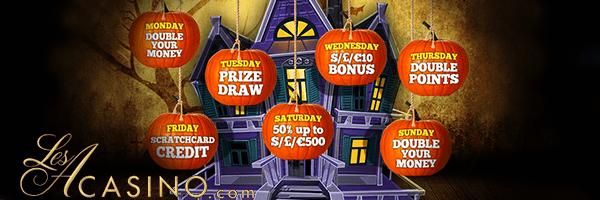halloween no deposit casino bonuses
