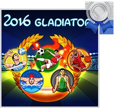 olympics slots 2016 gladiators endorphina